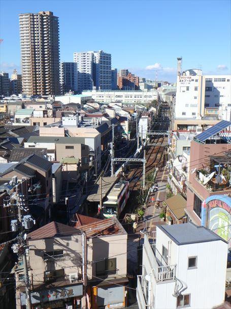 先日ほぼ同じ位置から撮った三ノ輪橋駅