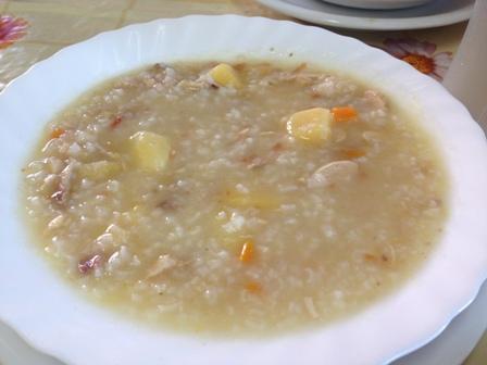 アルバニアの粥
