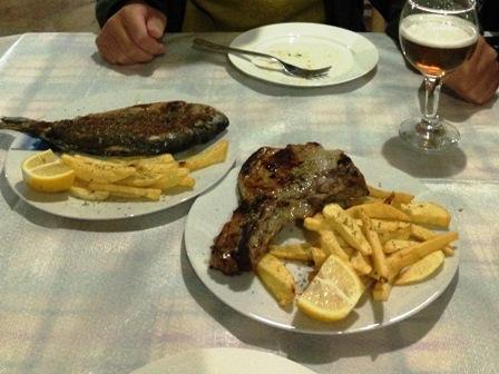 ヒマラの夕食