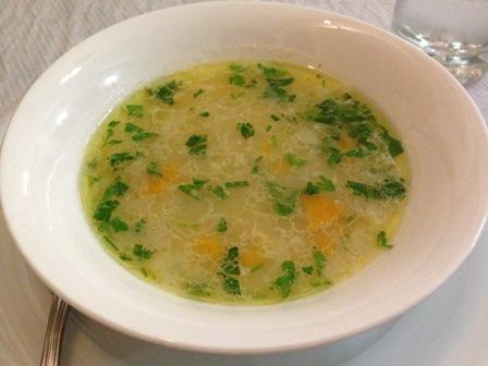 香り高いスープ