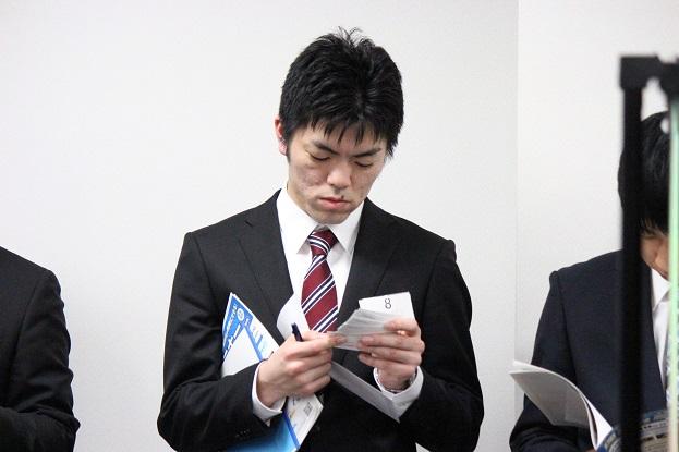 ★アプローチカード見てる6