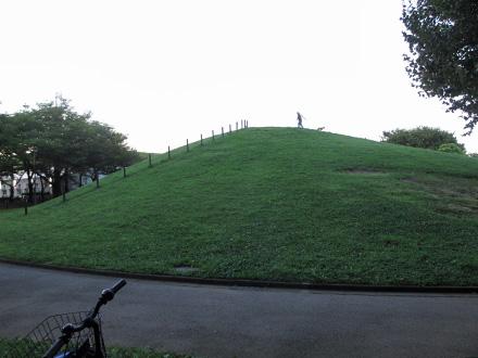 自由広場の丘の上