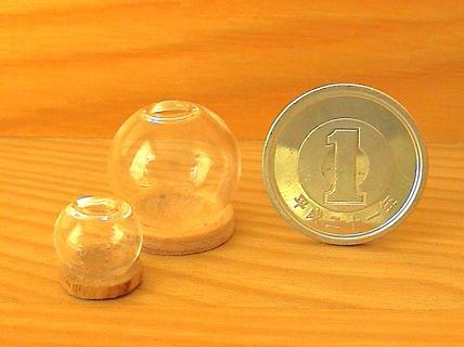 花瓶 ガラスドーム 2
