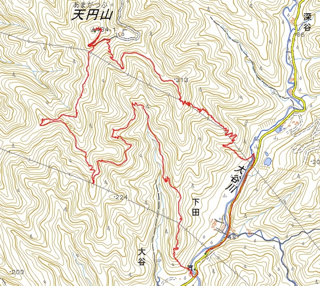 s-天円山トレース
