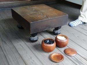 白隠禅師が使われた碁盤