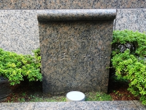 お玉ヶ池跡碑(全宅連会館)