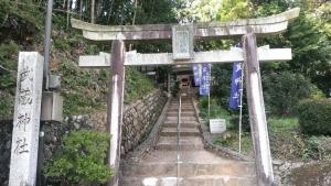 武蔵神社の石段