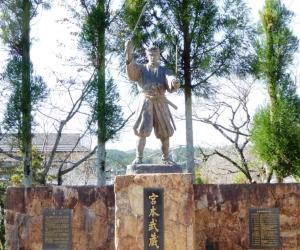若き日の武蔵像