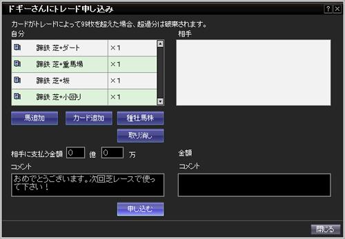 ドギさん桜花賞2