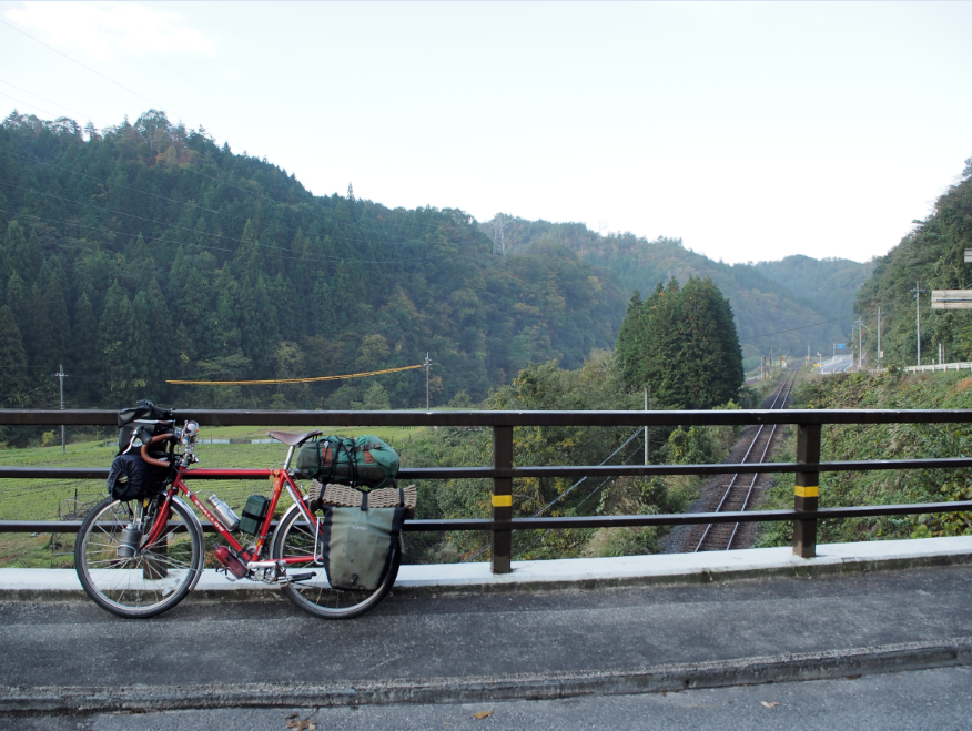 20161103 自転車旅1