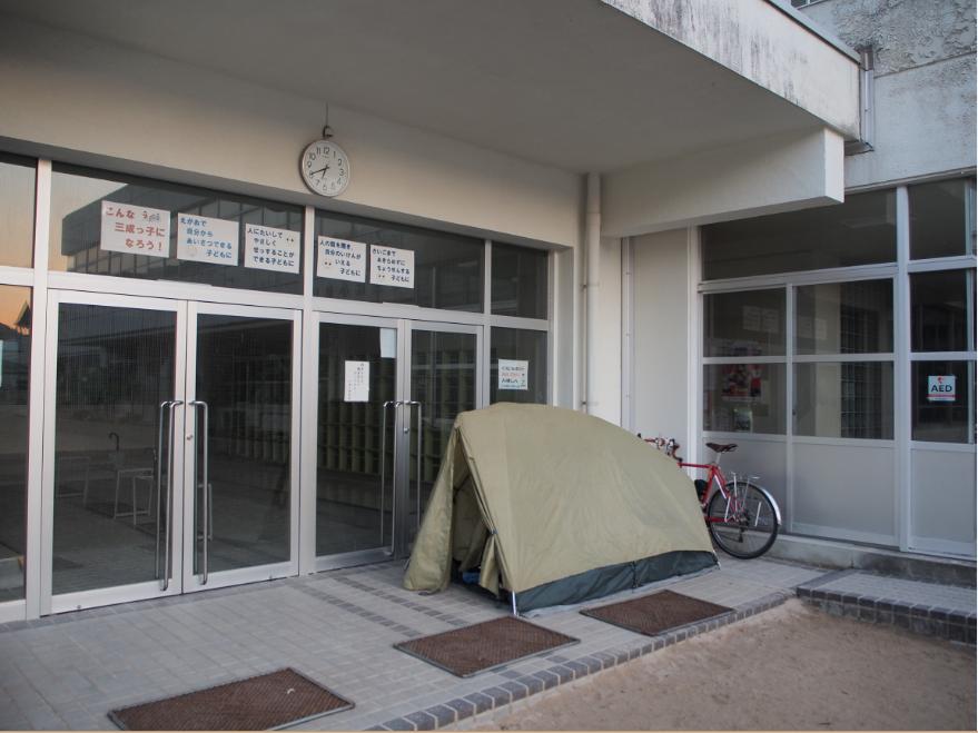 20161103 野宿