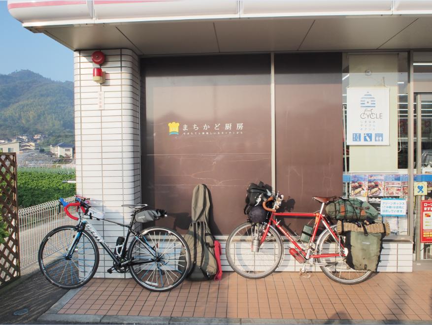 20161105 自転車旅1