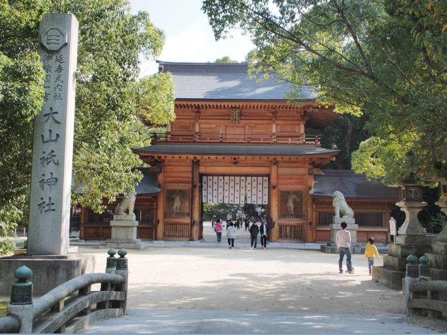 20161105 大山祇神社1
