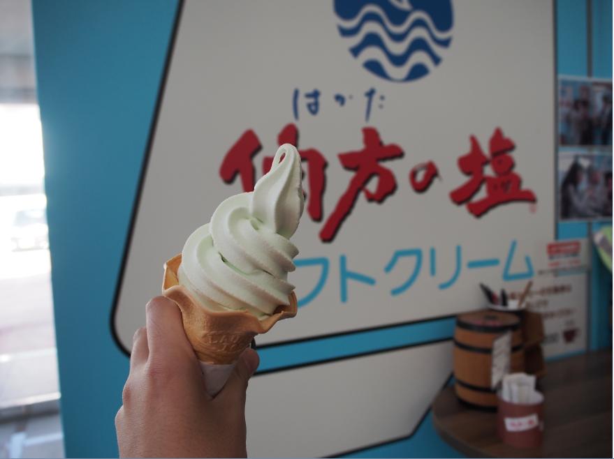 20161105 伯方の塩アイスクリーム