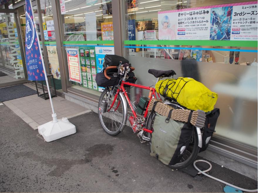 20161108 自転車旅1