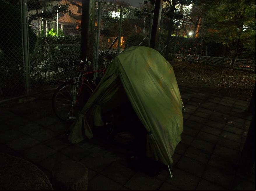20161122 野宿