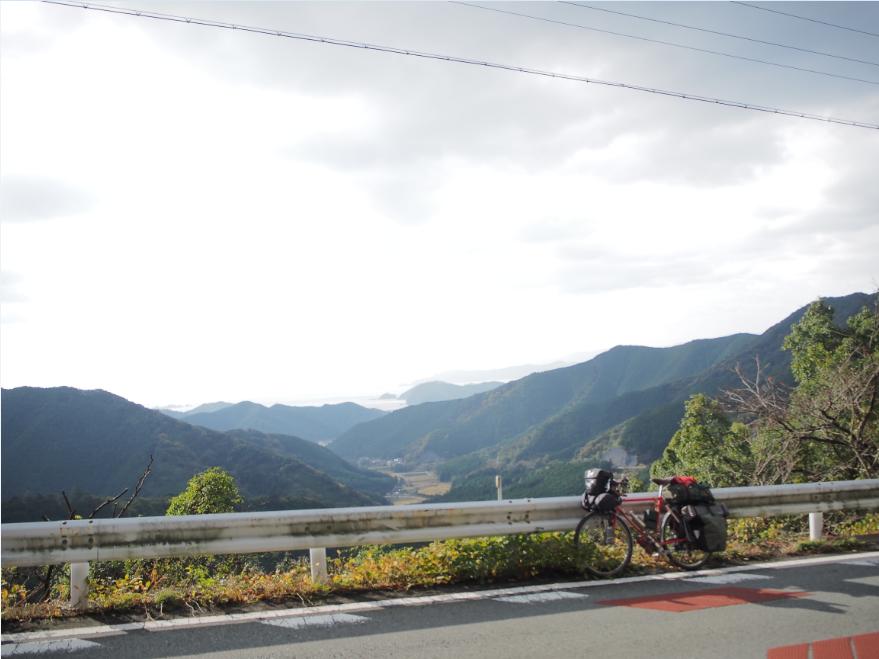 20161128 自転車旅荷坂峠2