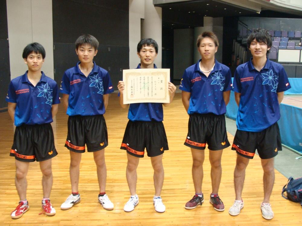 2016tt男子2位熊本大学