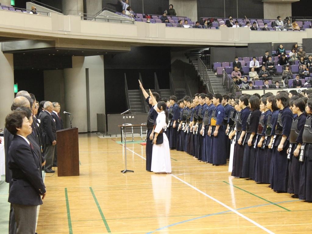 2016剣道開会式