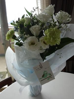 綺麗なお花をありがとう