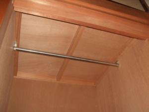 既存の押入れの天袋収納