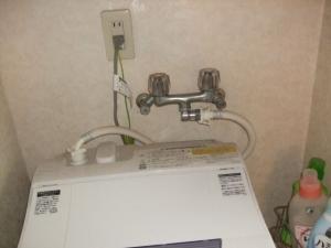 既存のツーハンドル水栓