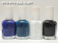 essie silkwatercolor SAMPLE①使用