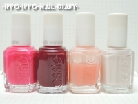essie silkwatercolor SAMPLE③使用