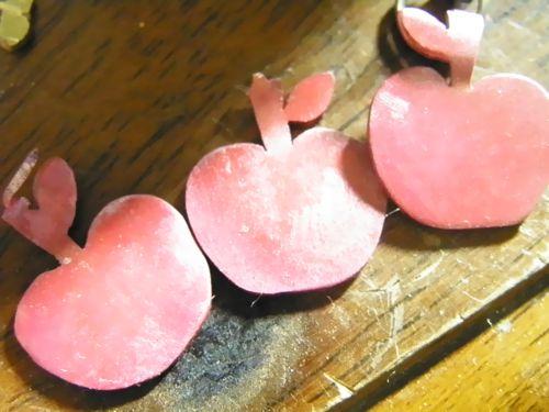 緋色銅リンゴネックレスメイキング (1)