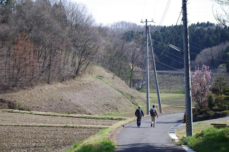 福島県石川町塩沢の鉱物採集