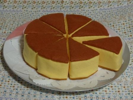 フェルト手芸 チーズケーキ 4