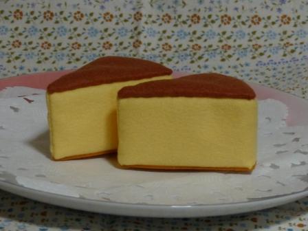 フェルト手芸 チーズケーキ 1
