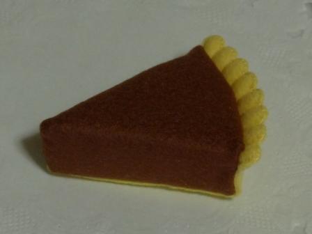フェルト手芸 チョコトルテ 2