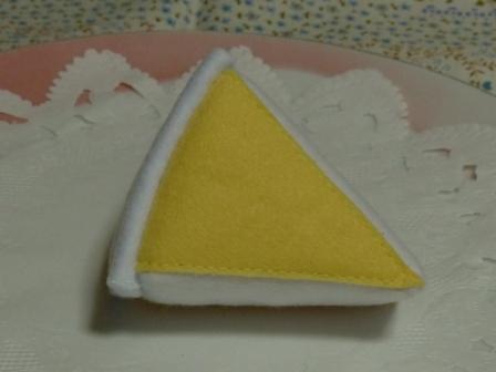 フェルト手芸 オレンジムース 3