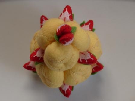 フェルト手芸 ケーキ シューツリー 2