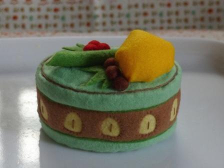 フェルト手芸 ケーキ カノン 1