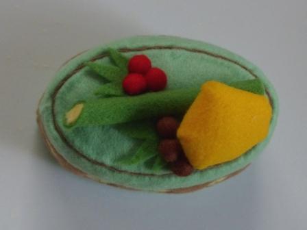 フェルト手芸 ケーキ カノン 3