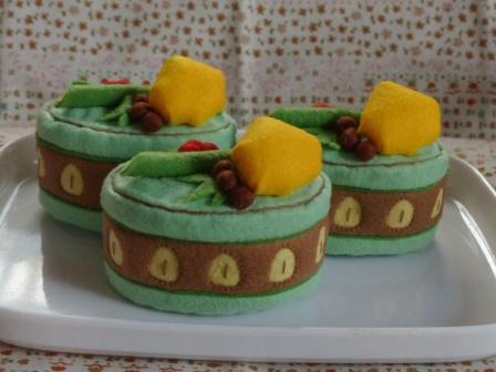 フェルト手芸 ケーキ カノン 2