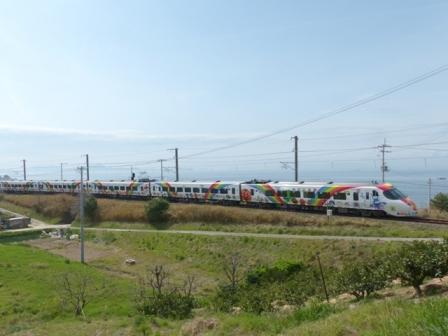 8000系特急形電車・アンパンマン列車 2