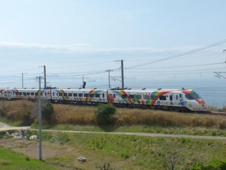 8000系特急形電車・アンパンマン列車 3
