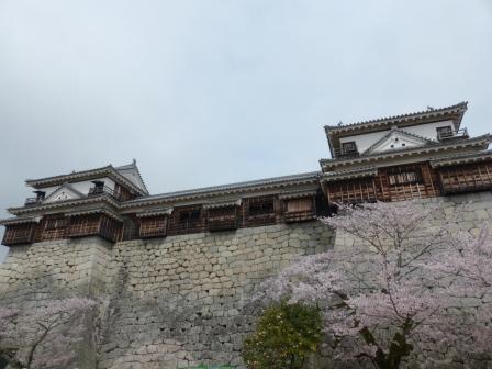 松山城 南隅櫓と北隅櫓