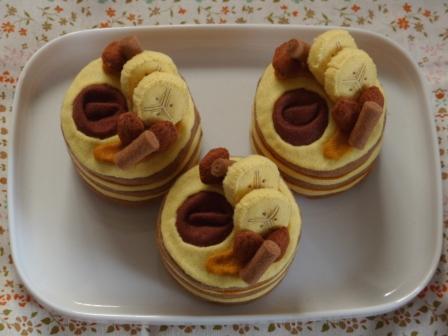 フェルト手芸 ケーキ キャメル・ムーン 4
