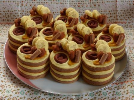 フェルト手芸 ケーキ キャメル・ムーン 6