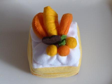 フェルト手芸 ケーキ シースクリーム 3