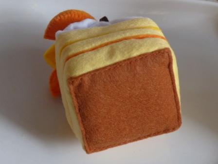 フェルト手芸 ケーキ シースクリーム 5