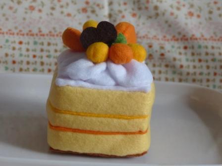 フェルト手芸 ケーキ シースクリーム 2