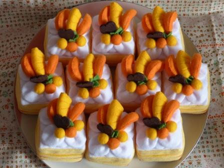 フェルト手芸 ケーキ シースクリーム 7