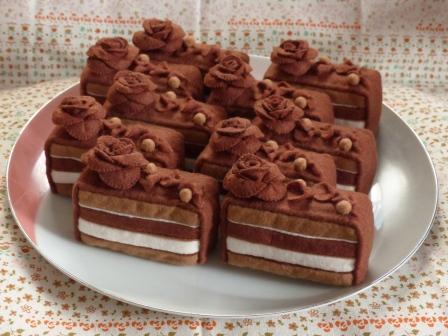 フェルト手芸 ケーキ ティラ・ラ・テ 6