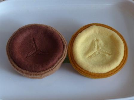 フェルト手芸 ケーキ タルト 4