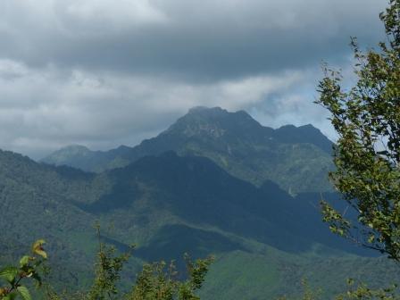 山々の風景 1